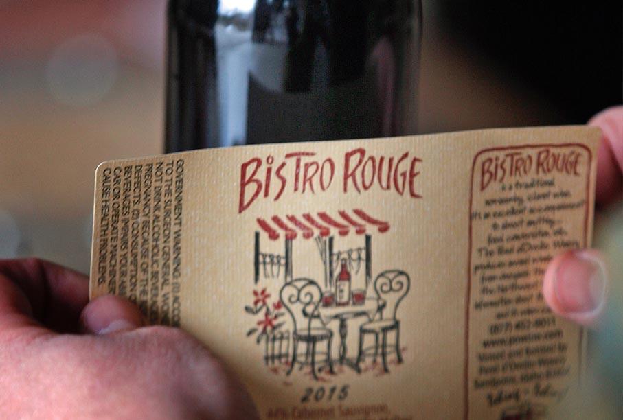 Bistro Rouge Tasting Room