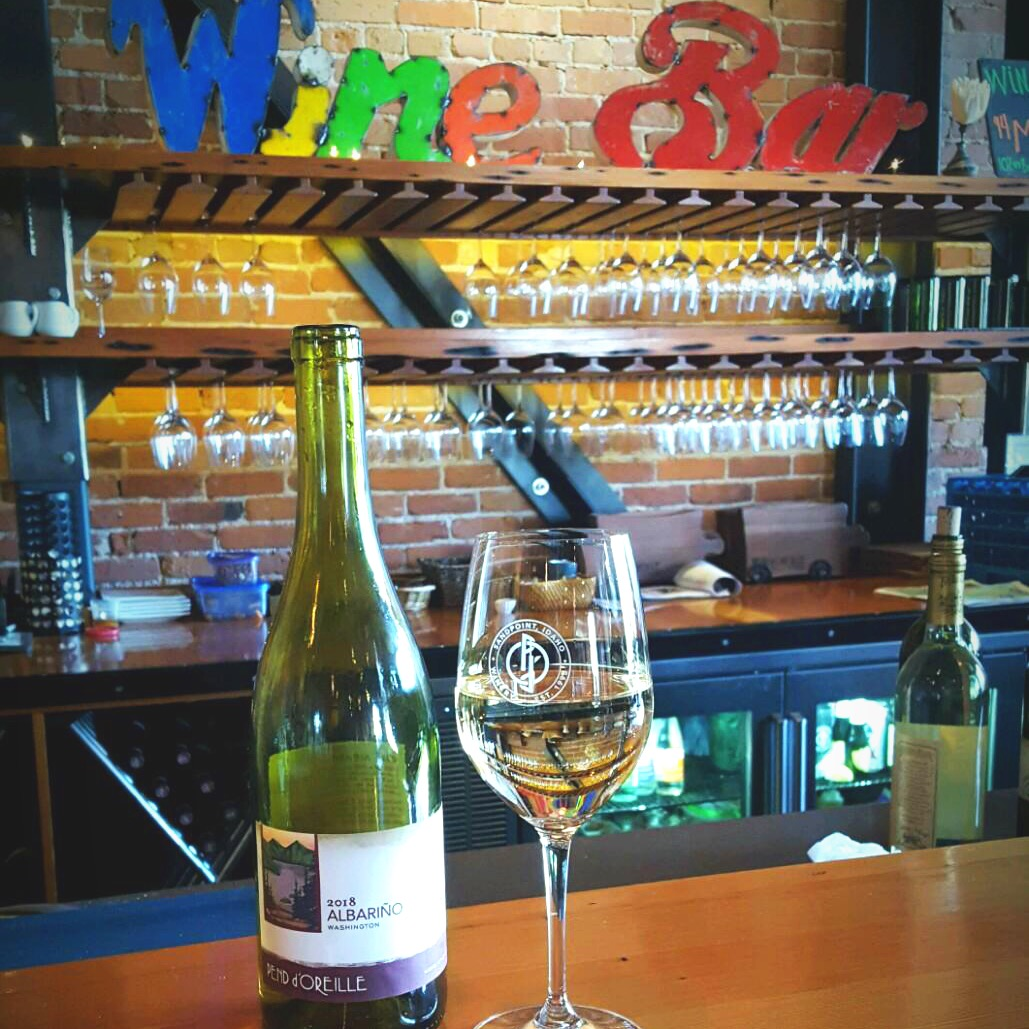 April's Wine of the Month is Albariño - Pend d'Oreille Winery